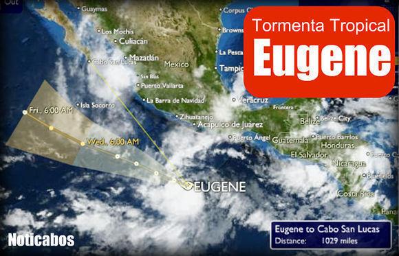 La tormenta tropical Eugene podría convertirse en las próximas horas en huracán frente al Pacífico mexicano. Foto tomada de Periódico Supremo.