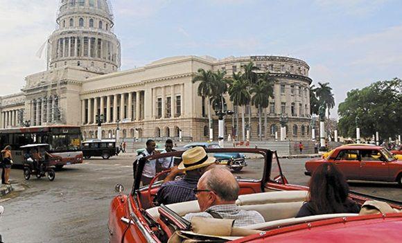 Crece un 29 por ciento arribo de turistas a La Haban.