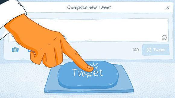 Advertencia: Viene otro tweet de Trump. Caricatura: Mashable.