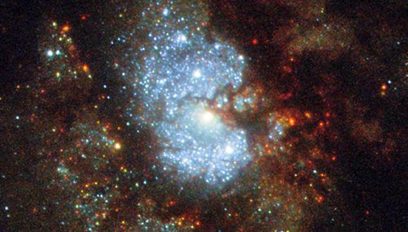 IC 342una de las galaxias más brillantes.