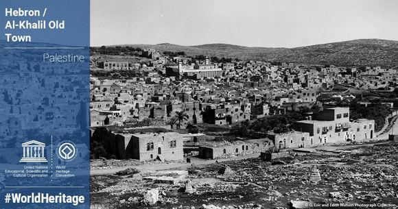 La Unesco ha incluido la ocupada ciudad cisjordana de Al-Jalil (Hebrón) en su lista de patrimonio mundial. Foto: @UNESCO