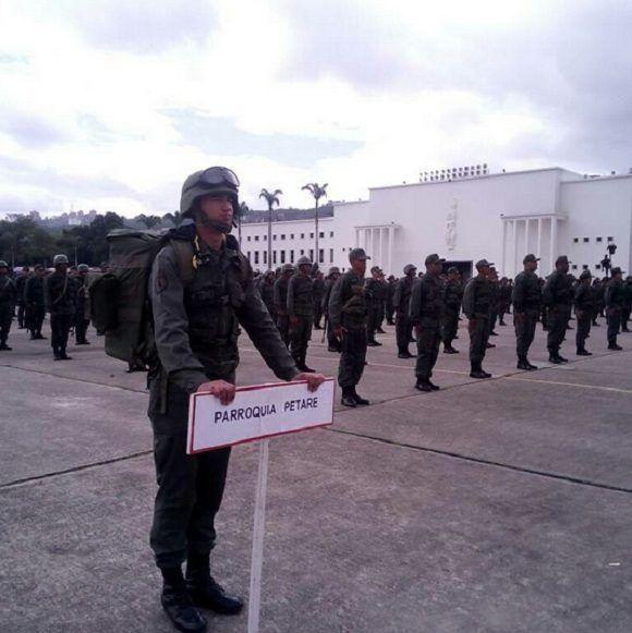 Ejército venezolano vigilará el material electoral y las votaciones de la Asamblea Constituyente el próximo 30 de julio. Foto: @ceofanb.