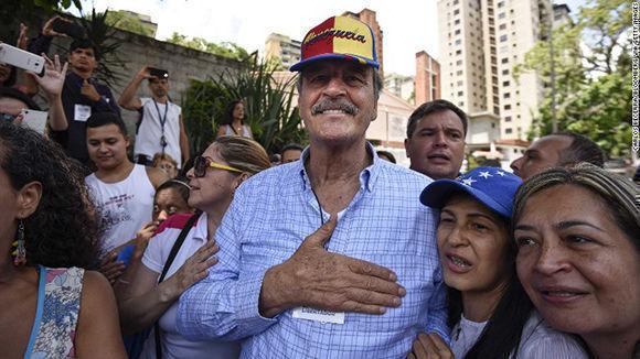 Vicente Fox en Venezuela. Foto: Archivo.