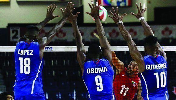 Cuba por boleto al Mundial-2018 de Voleibol (m)
