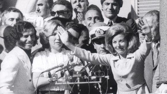 Maria Estela Martínez de Perón. Foto: El Clarín.