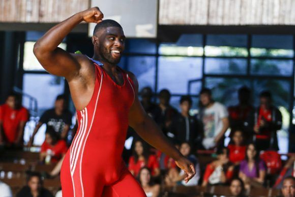 Cuban Pina wins bronze in World Wrestling Championship
