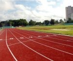 Lista la nueva pista de atletismo de Camagüey. Foto: Colaborador de JIT