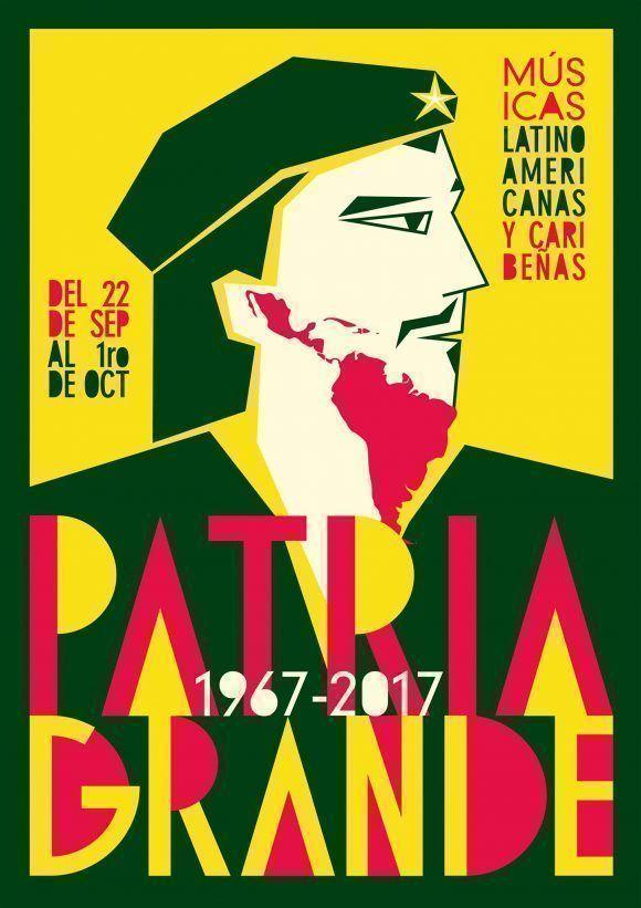 Foto: Cartel de la Cuarta Edición del Festival Patria Grande