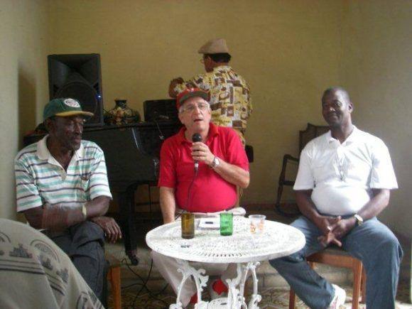 Con Polo y Reinaldo Costa.