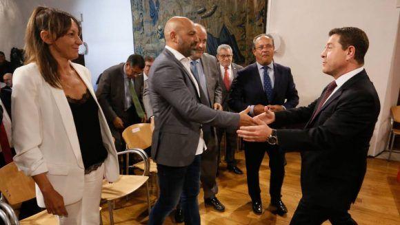 Alianza de Podemos y PSOE en Castilla-La Mancha. Foto: Kike Para.
