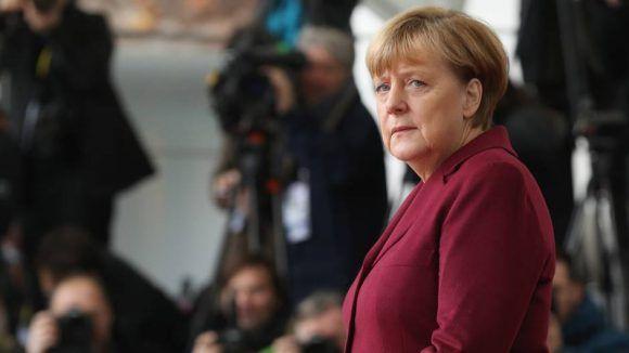 Angela Merkel. Foto tomada de Revista Capital.