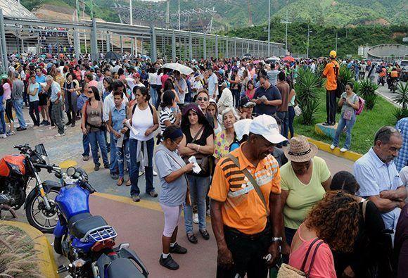 Más de ocho millones de venezolanos acudieron a las urnas para elegir a los delegados de la Asamblea Nacional Constituyente. Foto: Luis Franco/ Correo del Orinoco.