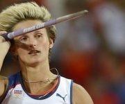 La checa Barbora Špotáková (66.76m) consiguió su segundo título del orbe. Foto: Sport.cz