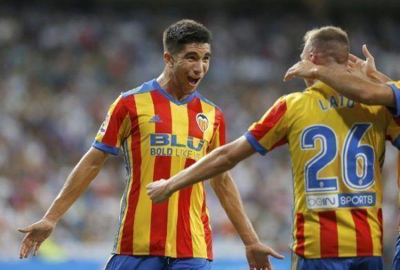 Carlos Soler consiguió el empate momentáneo. Foto tomada de Marca.