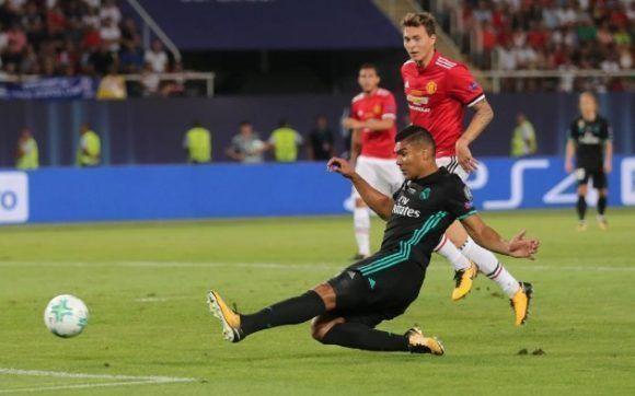 Casemiro anotó el primero. Foto: Reuters.