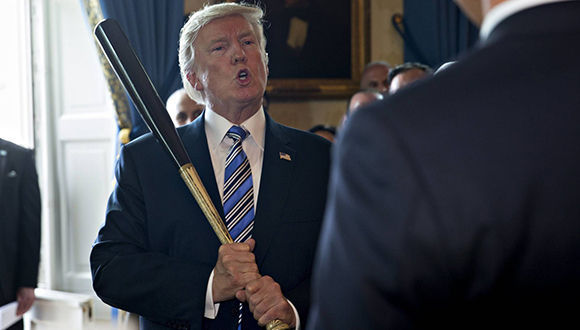 Donald Trump, presidente de Estados Unidos. Foto: EFE.