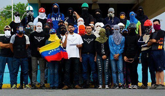 """El grupo """"Rumbo Libertad"""" hace un llamamiento a """"cero diálogo"""" y más violencia. Foto: Rumbo Libertad"""