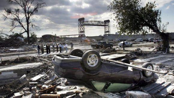 Huracán Harvey deja sus efectos en Texas. Foto: AP