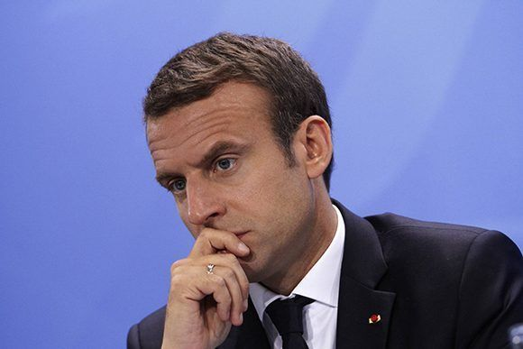 La satisfacción de los franceses con el gobierno de Macron ha caído en picada en sus primeros 10 días como presidente. Foto: Getty Images.