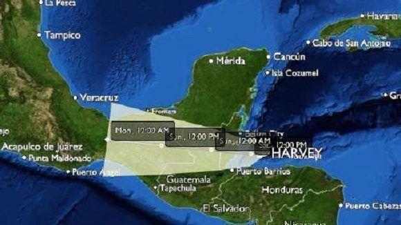 """""""Harvey"""" se degrada a depresión tropical"""