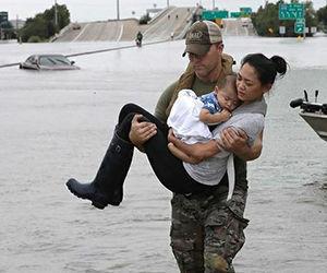 Al borde del colapso servicios de salud de Texas tras paso de Huracán Harvey
