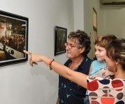 Inauguración de la exposición fotográfica Fidel Retrato Íntimo. Foto: Marcelino Vázquez/ ACN.