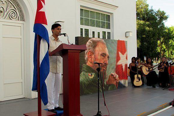 En el acto también participaron integrantes del Proyecto de Guitarras Clave de Sol, del municipio de La Lisa. Foto: Cinthya García Casañas/ Cubadebate.