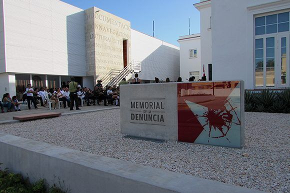 En 5ta y 14 (Municipio Playa), el público podrá visitar el Memorial de la Denuncia. Foto: Cinthya García Casañas/ Cubadebate.