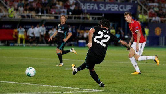 Isco puso en la pizarra el gol del título. Foto: Reuters.