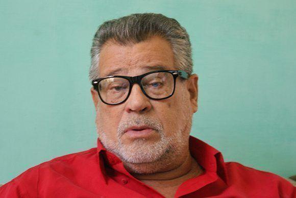 """Juanito Gómez, un experto del baile y la historia del """"casino"""". Foto cortesía del autor."""