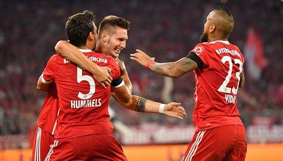 Süle anotó el primer gol del Bayern en la temporada liguera. Foto: @FCBayernES.