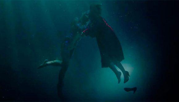 """""""La forma del agua"""", la nueva película como director de Guillermo del Toro, competirá en Venecia con posibilidades de obtener algún galardón."""