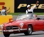 El piloto Lewis Hamilton marcó el domingo su carrera número 200 en la Fórmula Uno con una victoria en el Gran Premio de Bélgica. Foto: Francois Lenoir/ Reuters.