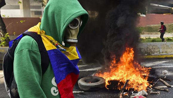 manifestacion-violenta-contra-el-gobierno-de-venezuela