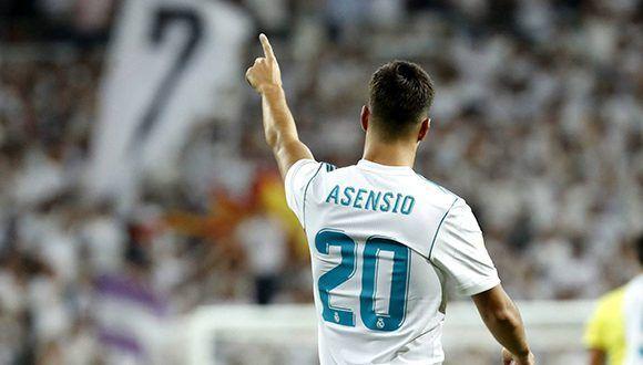 Otro partidazo de Asensio. Foto: EFE.