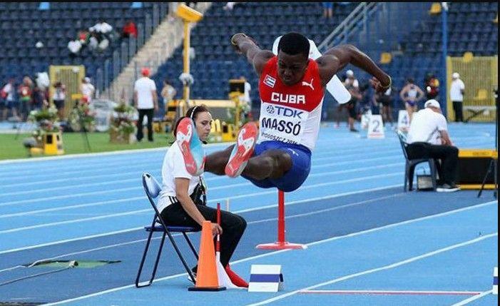 Saltador cubano Massó termina quinto en Mundial de Atletismo