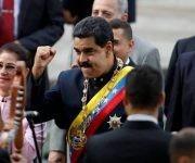 El presidente de Venezuela insiste en solucionar los problemas internos de su país por la vía democrática y sin injerencias estadounidenses. Foto: Reuters.