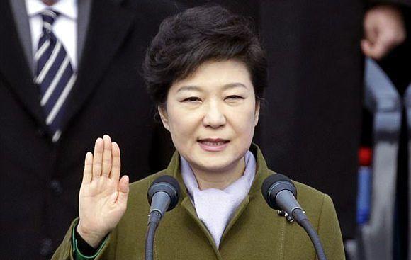 Park Geun-hye. Foto: AP.