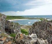 Paisaje costero del Parque Nacional Guanahacabibes, situado en el extremo más occidental del archipiélago cubano, en Sandino, Pinar del Río, Cuba, 9 de agosto de 2017. Foto: ACN/ Rafael Fernández.