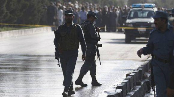 La policía afgana. Foto: @portalmvd.