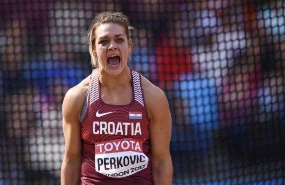 Sandra Perkovic. Foto tomada de Sportskeeda.com.