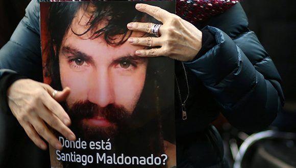 Desaparición de Santiago Maldonado es responsabilidad del Estado argentino