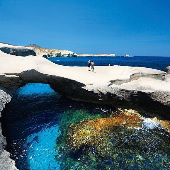 Sarakiniko. Isla de Milo. Grecia. Foto: National Geographic.