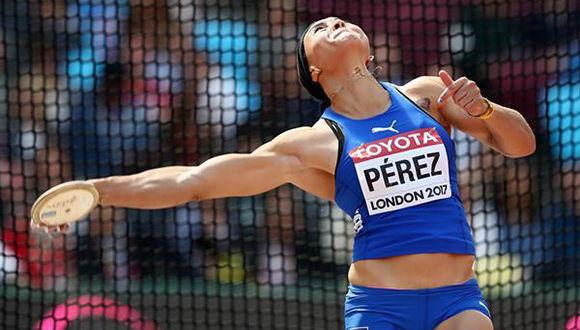 Discóbola cubana Yaimè Pérez se luce en Francia con mejor marca del año