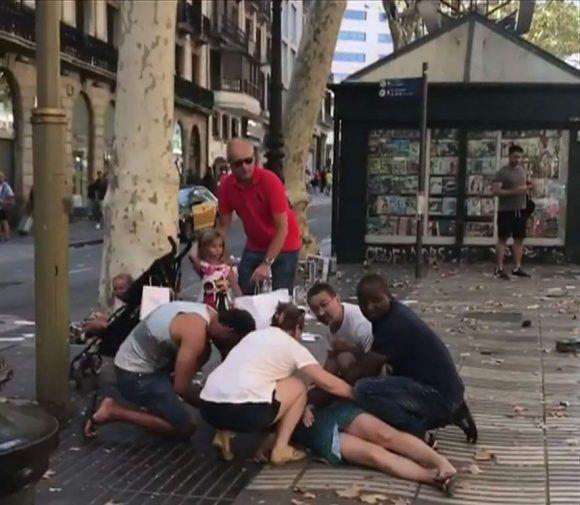 Atentados en Barcelona y Cambrils dejan víctimas de unas 20 nacionalidades, entre ellos cinco cubanos