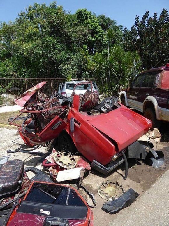 Accidente de tránsito en Ciego de Ávila cobra vidas humanas