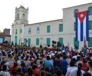 Acto nacional por el aniversario 57 de la Federación de Mujeres Cubanas (FMC) en la Plaza San Juan de Dios, en Camagüey, el 23 de agosto de 2017. ACN FOTO/ Rodolfo BLANCO CUÉ/sdl