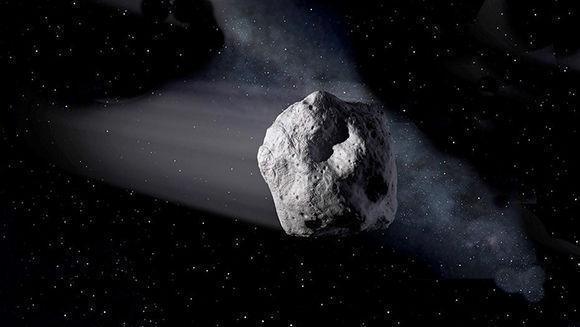 Asteroide Florence. Foto: NASA.