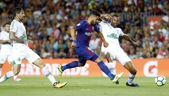 Luis Suárez marcó el cuarto gol del certamen.