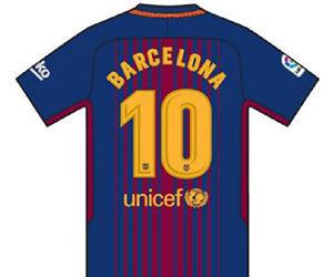 """Las camisetas del Barça cambiarán los nombres por """"Barcelona"""" ante el Betis."""